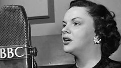 Judy Garland is inducted into the Singers Hall of Fame