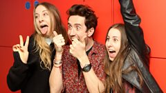 HAIM chat to Grimmy