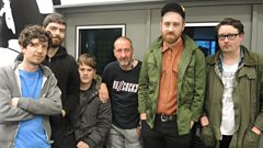 Hookworms join Marc Riley in the studio