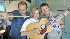 Cerys chats to Radcliffe and Maconie