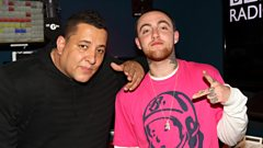 Mac Miller catches up with Semtex