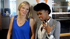Janelle Monae chats to Jo Whiley