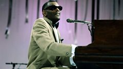 Ray Charles is inducted into Michael Ball's Singers Hall of Fame