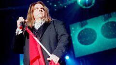 Meat Loaf on the Bat Out Of Hell musical
