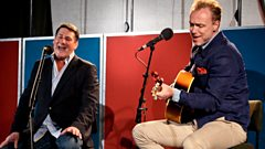 Gary Kemp and Tony Hadley sing Spandau's Code of Love