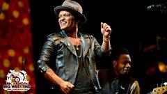 Bruno Mars - Radio 1's Big Weekend highlights