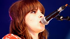 Gabrielle Aplin on the BBC Introducing Stage at Glastonbury 2013