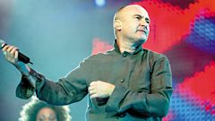 Phil Collins is inducted into the Singers Hall of Fame