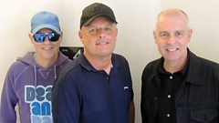 The Pet Shop Boys join Dave Pearce in the studio