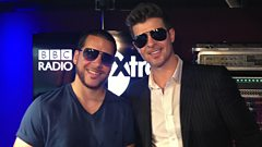 Robin Thicke chats to CJ Beatz