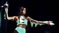 Azealia Banks - Glastonbury highlights