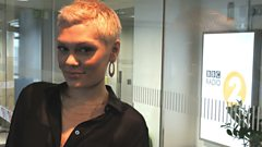 Jessie J chats to Steve Wright