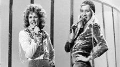 ABBA's Agnetha and Frida are inducted into the Singers Hall of Fame