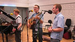 Listen to The Young Uns in session for World on 3