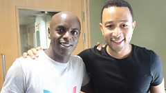 Full interview: John Legend co-hosts the show with Trevor Nelson