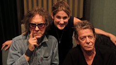 Lou Reed and photographer Mick Rock join Nemone