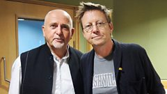Peter Gabriel joins Simon Mayo in the studio