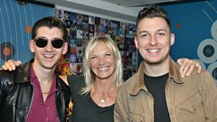 Arctic Monkeys chat to Jo Whiley