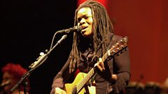 Tracy Chapman is inducted into Michael Ball's Singers Hall Of Fame