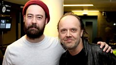 Lars Ulrich chats to Daniel P Carter