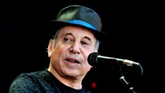 Paul Simon is inducted into Michael Ball's Singers Hall of Fame
