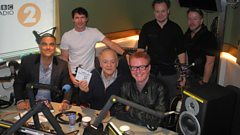 James Blunt with Sir David Jason and Robbie Williams on backing vocals
