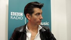 Arctic Monkeys chat to Stuart Maconie