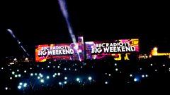 Radio 1's Big Weekend Video Mapping (Calvin Harris)
