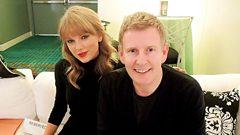 Taylor Swift chats to Patrick Kielty