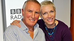 Annie Lennox speaks to Johnnie Walker