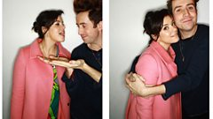 Lily Allen Chats With Nick Grimshaw