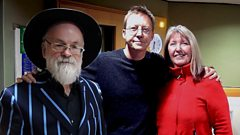 Maddy Prior and Sir Terry Pratchett chat with Simon