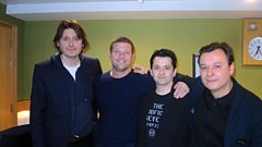 The Manic Street Preachers play for Dermot