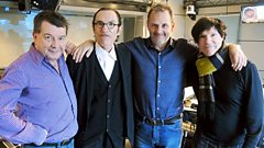 Sparks join Radcliffe & Maconie in the studio