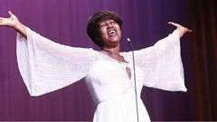 Aretha Franklin is inducted into Michael Ball's Singers Hall of Fame