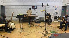 Ballake Sissoko Quartet in session for World on 3