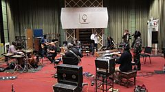 Soothsayers and Cornell Campbell in session for World on 3