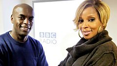 Full interview: Mary J. Blige co-hosts a festive show with Trevor Nelson