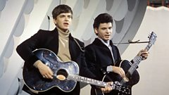 The Everly Brothers enter Michael Ball's Singers Hall of Fame