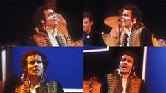 Adam Ant on performance