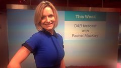 The D&B Weather Forecast with Rachel Mackley