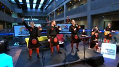 Red Hot Chilli Pipers cover Avicii's Wake Me Up