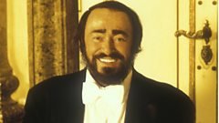 Luciano Pavarotti is inducted into Michael Ball's Singers Hall of Fame