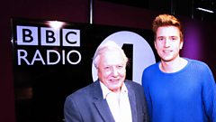 Sir David Attenborough chats with Greg