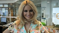 Pixie Lott chats to Steve Wright