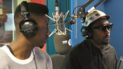will.i.am & Jermain Jackman from The Voice UK chat to Twin & Yasmin