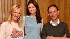 Sophie Ellis Bextor joins Jo Whiley and Steve Lamacq in the studio