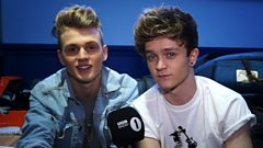 Cel goes backstage with The Vamps