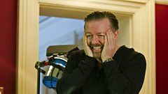 Ricky Gervais chats with Dermot