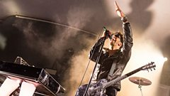Dave 1 from Chromeo speaks to Radcliffe and Maconie
